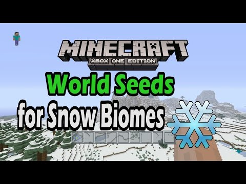 Awesome Minecraft Xbox One Snow Biome Seeds