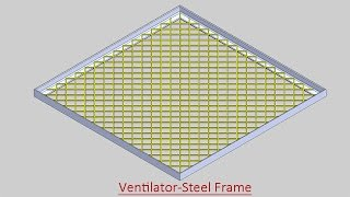 Solidworks TUTORIAL #48 How to design a WIRE MESH | Its made