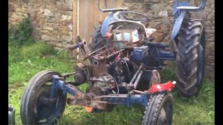 Massey Ferguson TEA20 Tractor - part 2 - Cylinder head