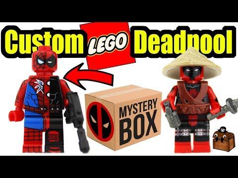 New Deadpool LEGO Custom Minifigures 2017
