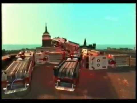 GTA 4 BUMPER CARS fire trucks ice cream trucks