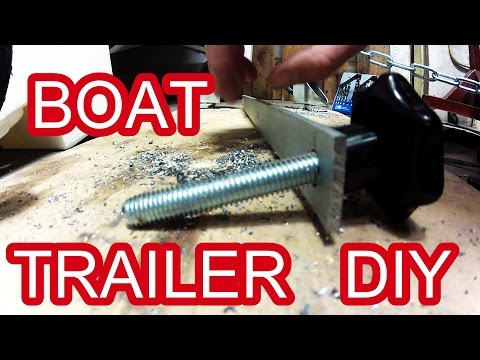 How to - Boat Trailer Mudguards - DIY trailer serie Part 1