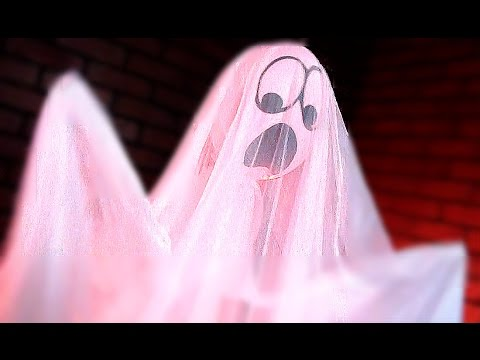 LIGHT-UP ANIMATED GHOST PROP!! // Animated Props