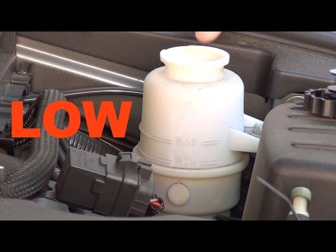 How To Refill Power Steering Fluid