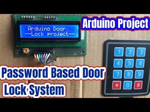 Password Based Door Lock System Using Arduino and Keypad