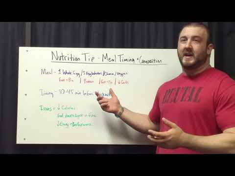 Brutal Iron Gym - Nutrition Timing & Meal Composition related to Workouts (see description)