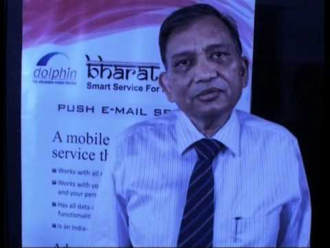 Bharat Berry launched Push Mail and PIM Sync Service with MTNL  Delhi and Mumbai