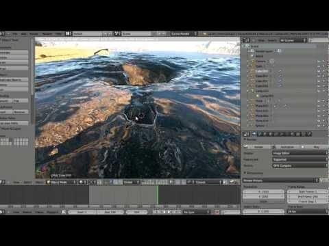 Cycles live rendering; gtx 690 vs 4.1 GHz 8-core cpu fun