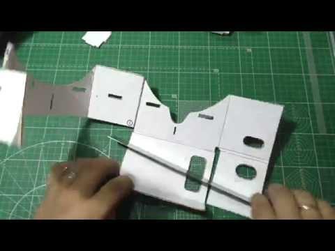 How to make virtual reality glasses Google cardboards