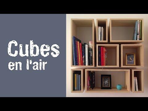 Fabrication d'une Bibliothèque Cubes