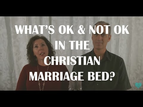 What's Okay and Not Okay in the Christian Marriage Bed?
