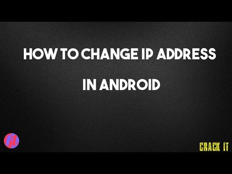 How To Change IP Address in Android-2017