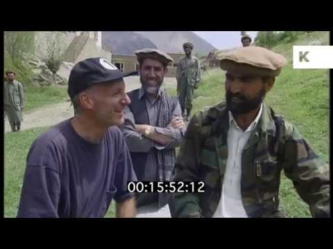 1999 North Afghanistan, Mujahideen Leader Meets Western Man | Kinolibrary
