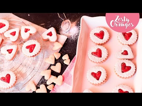 How To Make Linzer Cookies (Valentine's day Recipe)
