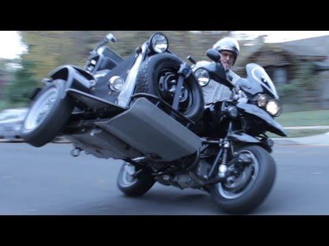 Custom Off-Road BMW R1150GS Adventure Sidecar Built By Boxer Metal GoPro Hero 3+