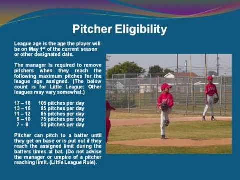 Frye's Baseball Scorekeeping 101 Lesson VII (Narrated)