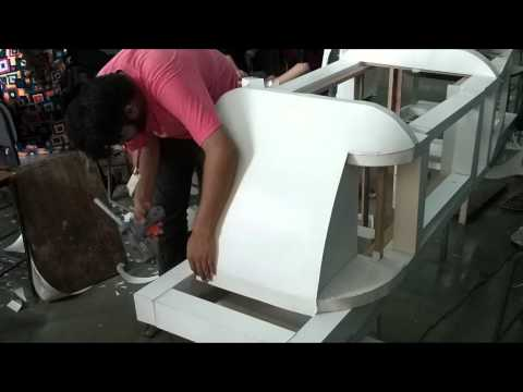 Making of Paper made life size car