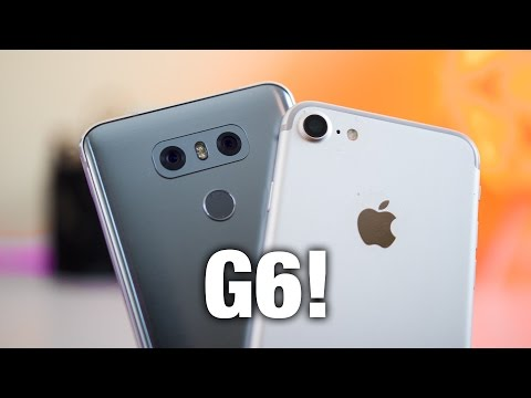 LG G6 Camera Comparison VS iPhone 7 & First Impressions!