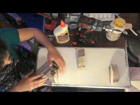 How to make a driftwood shelf