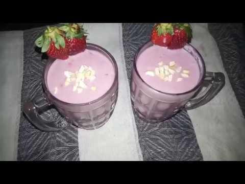 strawberry & promogranate juice