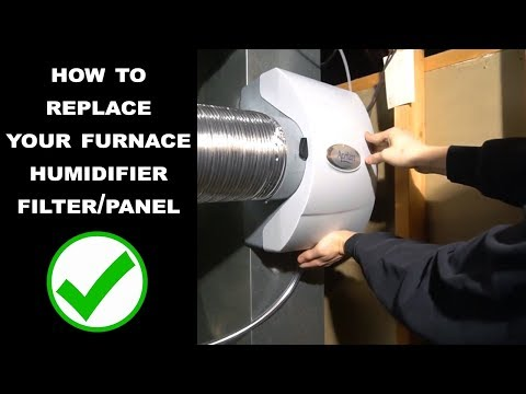 How to Replace Humidifier Water Panel Filter
