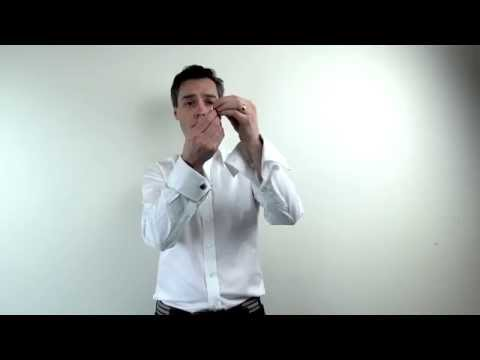 How To Use Cufflinks On A French Cuff Shirt