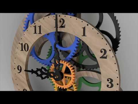 Toucan Clock - CAD Model