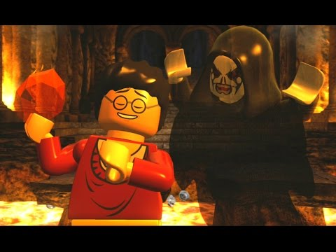 LEGO Harry Potter Years 1-4 Walkthrough Part 3 - Year 1 - 'The Forbidden Forest & Face of the Enemy'