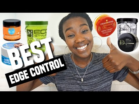 Best Edge Control / Gel for Natural Hair