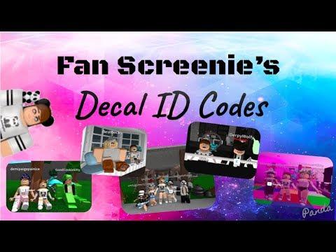 Fan Screenie's Decal ID Codes #1 + NEW INTRO!