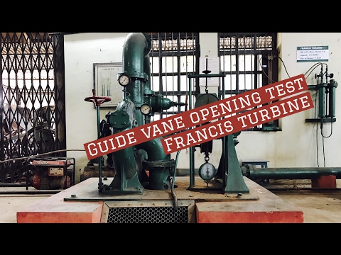 Best Guide vane opening Francis Turbine Lab Test : Fm lab experiments