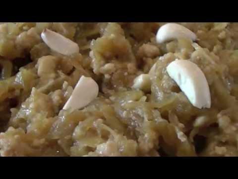 Ghiya (Lauki) Halwa Recipe   Squash Pudding