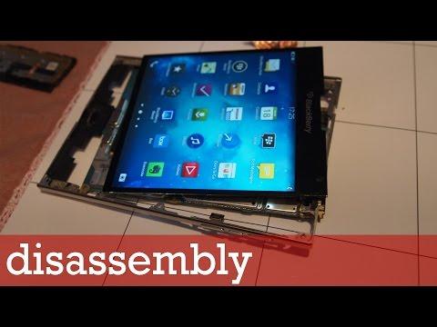 BlackBerry Passport disassembly /  teardown