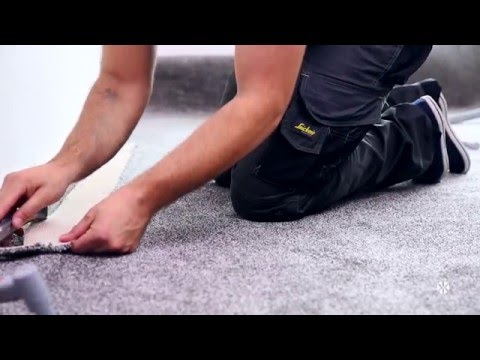 How to Fit Carpet with Underlay