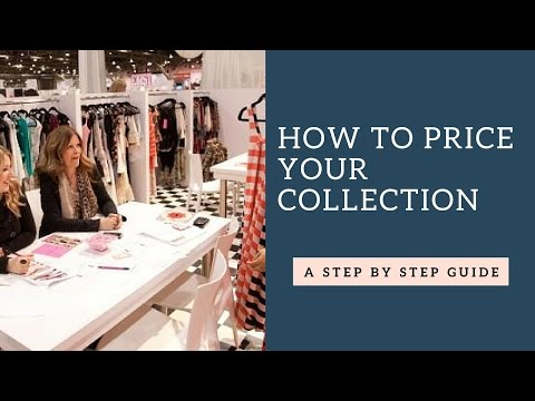 How to Price Your Collection For Wholesale Buyers?