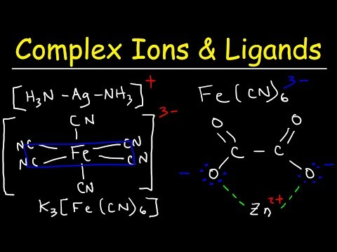 Complex Ions, Ligands, & Coordination Compounds, Basic Introduction   Chemistry