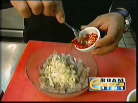 Gof Mannge: Chef Peter's shrimp kelaguen