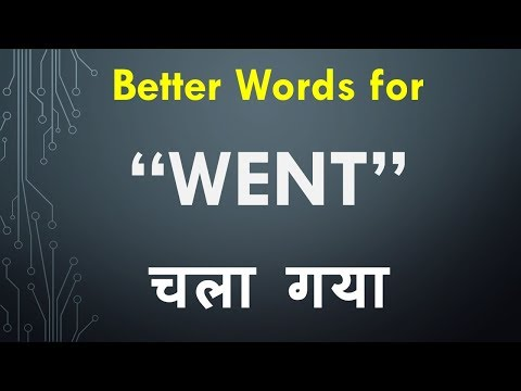 Better Words To Use Instead Of