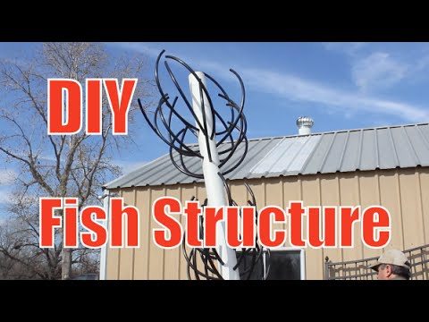 How To Build a Artificial Fish Attractor Structure / Habitat