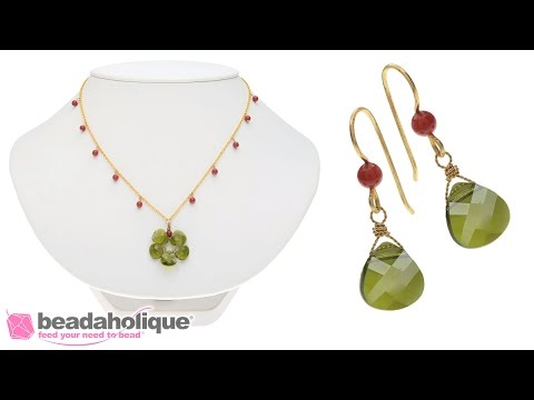 How to make the Wreath Necklace and Earring Set