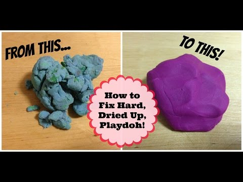 How to Make Playdoh Soft Again! | MayMommy2011