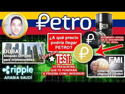 5 Noticias RIPPLE, PETRO y BITCOIN + TEST: 10 PREGUNTAS que DEBERÍAS Responder ANTES de INVERTIR