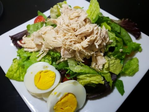 Low-cal's Shredded Chicken Salad