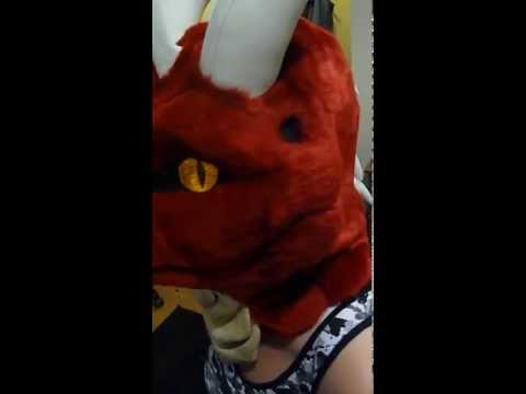 Nemmy red dragon mask