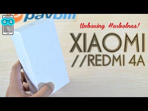 Xiaomi Redmi 4A, Harbolnas Unboxing! Kesan Pertama Begitu-begitu Aja :D