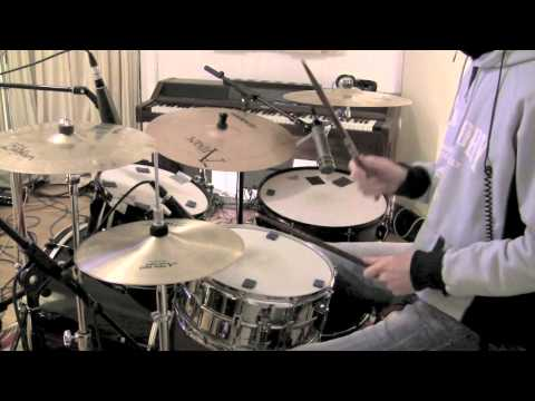 How To Play Can't Get Enough by Bad Company on Drums - The Drum Ninja - Lesson