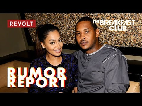 Carmelo Anthony Allegedly Knocked Up Dancer and La La is ...