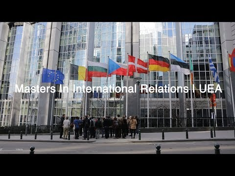 Masters in International Relations | University of East Anglia (UEA)