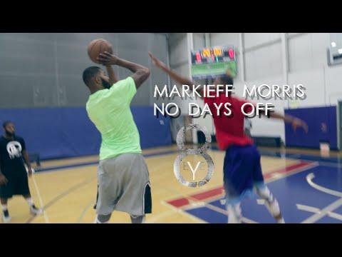 Markieff Morris - NO DAYS OFF! Summer work!