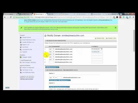 How to Create Custom DNS Address in Namecheap Registered Domain Registrar